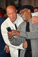 Vin Diesel &amp; Samuel L. Jackson at the Los Angeles premiere for &quot;XXX: Return of Xander Cage&quot; at the TCL Chinese Theatre, Hollywood. Los Angeles, USA 19th January  2017<br /> Picture: Paul Smith/Featureflash/SilverHub 0208 004 5359 sales@silverhubmedia.com
