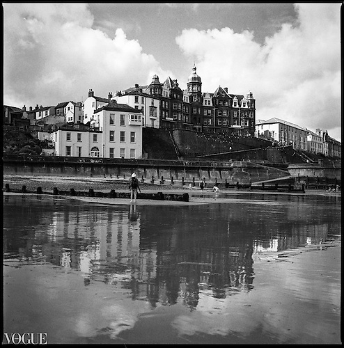 Reflection, Cromer Seafront, North Norfolk 2012 by Paul Cooklin