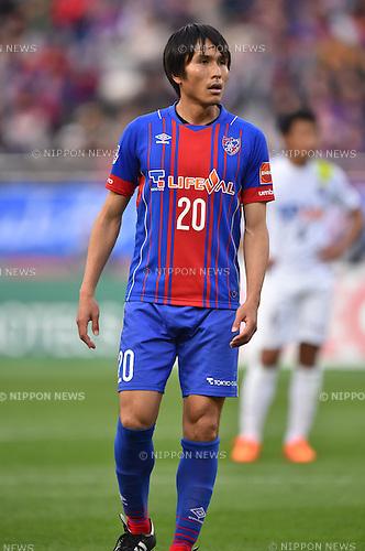 Ryoichi Maeda (FC Tokyo), APRIL 18, 2015 - Football /Soccer : 2015 J1 League 1st stage match between F.C. Tokyo 1-2 Sanfrecce Hiroshima at Ajinomoto Stadium in Tokyo, Japan. (Photo by AFLO)