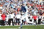 24 November 2012: UNC's Bryn Renner (2). The University of North Carolina Tar Heels played the University of Maryland Terrapins at Kenan Memorial Stadium in Chapel Hill, North Carolina in a 2012 NCAA Division I Football game. UNC won 45-38.