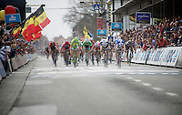 mass sprint with John Degenkolb (DEU/Giant-Shimano) victorious<br /> <br /> Gent-Wevelgem 2014