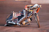 Heat 8: Tyron Proctor of Wolves - Lakeside Hammers vs Wolverhampton Wolves - Elite League Speedway at Arena Essex Raceway - 16/05/11 - MANDATORY CREDIT: Gavin Ellis/TGSPHOTO - Self billing applies where appropriate - Tel: 0845 094 6026