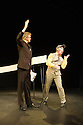 Theatre des Bouffes du Nord present MARCEL, as part of the Lonodon International Mime Festival, at the Shaw Theatre. Picture shows: Jos Houben, Marcello Magni.