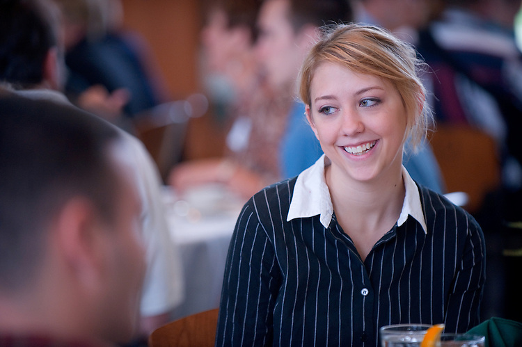 19039Scholarship Luncheon for the College of Engineering: In Walter Hall 9/12/08...Emma Frakart