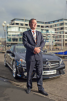 Mark Walker, former owner Wellington Star Mercedes, photographed on Wellington's waterfront for Hardie Grant Magazines, Australia