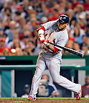 28 August 2010: St. Louis Cardinals infielder Felipe Lopez in action against the Washington Nationals at Nationals Park in Washington, DC. The Nationals defeated the Cards 14-5 to take the third game of their 4-game series. Mandatory Credit: Ed Wolfstein Photo