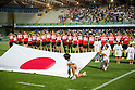Japan team group line up (JPN), AUGUST 13, 2011, Rugby : International test match between Italy 31-24 Japan at Dino Manuzzi Stadium, Cesena, Italy, (Photo by Enrico Calderoni/AFLO SPORT) [0391]