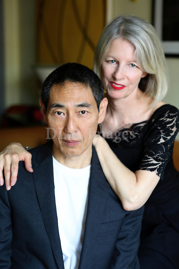 Portrait of Elizabeth Cannon and Taro Suzuki