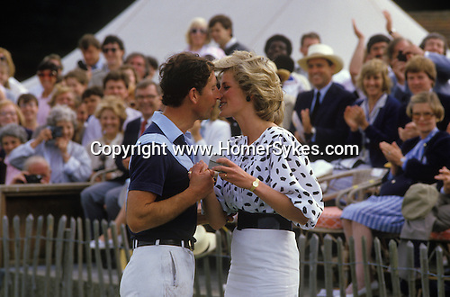 Prince Charles and Lady Diana Polo Windsor Great Park.  The English Season published by Pavilon Books 1987
