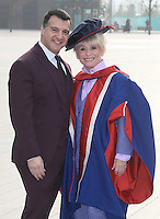 NOV 20 Barbara Windsor receives an honorary doctorate