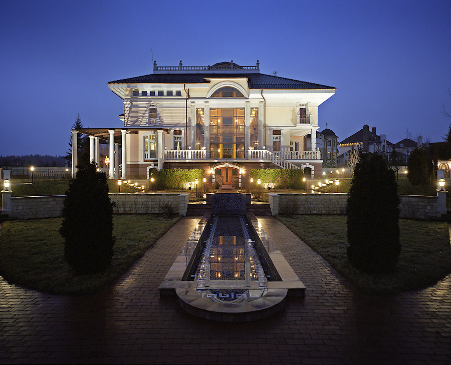 Moscow, Russia, 05/12/2006.&amp;#xA;US$9.5 million country house in the prestigious Rublevo-Uspenskoe area marketed by Kirsanova Realty<br />