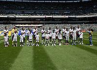 USA Men's National Team loses to Mexico 2-1, August 12, 2009 at Estadio Azteca, Mexico City, Mexico. .   .