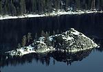 Fanette Island in winter