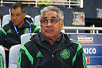 16 October 2014: Mexico head coach Leonardo Cuellar (MEX). The Mexico Women's National Team played the Costa Rica Women's National Team at Sporting Park in Kansas City, Kansas in a 2014 CONCACAF Women's Championship Group B game, which serves as a qualifying tournament for the 2015 FIFA Women's World Cup in Canada. Costa Rica won the game 1-0.