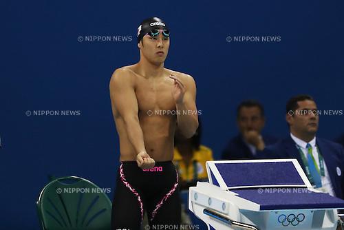 Daiya Seto (JPN), <br /> AUGUST 6, 2016 - Swimming : <br /> Men's 200m Butterfly Semi-final <br /> at Olympic Aquatics Stadium <br /> during the Rio 2016 Olympic Games in Rio de Janeiro, Brazil. <br /> (Photo by Koji Aoki/AFLO SPORT)