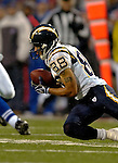3 December 2006: San Diego Chargers wide receiver Eric Parker (88) pulls in a kickoff against the Buffalo Bills at Ralph Wilson Stadium in Orchard Park, New York. The Charges defeated the Bills 24-21. Mandatory Photo Credit: Ed Wolfstein Photo<br />