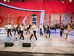 Zika show, a live TV variety show watched each Saturday morning by 25% of the Serbian people during it's production and broadcast  in Belgrade, Serbia<br /> <br /> Modern danchers