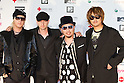 June 25, 2011 - Chiba, Japan - Monkey Majik pose on the red carpet during the MTV Video Music Aid Japan event. Japanese and foreign stars attend this charity concert in support for the victims of the March 11 earthquake and tsunami that rocked the northeast region of Japan. (Photo by Christopher Jue/AFLO)