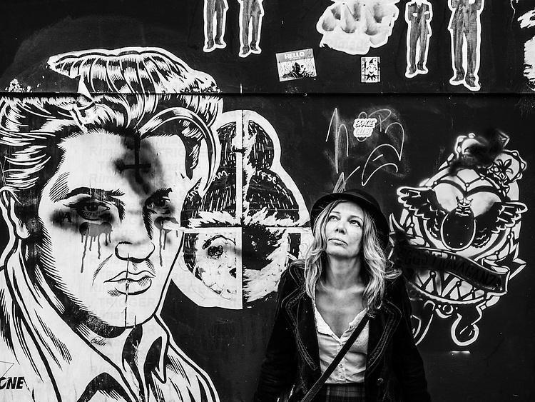 Elvis graffiti