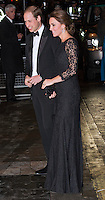 Kate, Duchess of Cambridge & Prince William attend the Royal Variety Performance - London