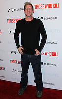 """HOLLYWOOD, LOS ANGELES, CA, USA - FEBRUARY 26: Kenny Johnson at the Premiere Party For A&E's Season 2 Of """"Bates Motel"""" & Series Premiere Of """"Those Who Kill"""" held at Warwick on February 26, 2014 in Hollywood, Los Angeles, California, United States. (Photo by Xavier Collin/Celebrity Monitor)"""