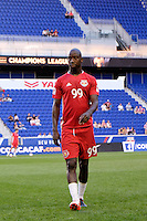 Harrison, NJ - Wednesday Aug. 03, 2016: Bradley Wright-Phillips during a CONCACAF Champions League match between the New York Red Bulls and Antigua at Red Bull Arena.