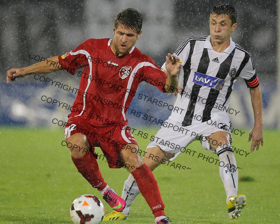 Fudbal Super liga season 2013-2014<br /> Partizan v Radnicki Kragujevac<br /> Ivan Petrovic and Sasa Ilic<br /> Beograd, 25.08.2013.<br /> foto: Srdjan Stevanovic/Starsportphoto &copy;
