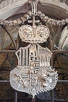 Sedlec Ossuary (Kostnice Sedlec), Kutná Hora, Czech Republic