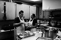 Philadelphia, Mississipi, June 24, 2012.A diner's kitchen.