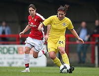 Lucie Ondrusova in action for Sparta Prague - Arsenal Ladies vs Sparta Prague - UEFA Women's Champions League at Boreham Wood FC - 11/11/09 - MANDATORY CREDIT: Gavin Ellis/TGSPHOTO - Self billing applies where appropriate - Tel: 0845 094 6026