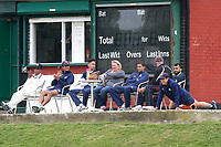 Wanstead players look on during Ardleigh Green CC vs Wanstead and Snaresbrook CC, Shepherd Neame Essex League Cricket at Central Park on 29th April 2017