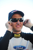 May 4, 2012; Commerce, GA, USA: NHRA funny car driver Bob Tasca III during qualifying for the Southern Nationals at Atlanta Dragway. Mandatory Credit: Mark J. Rebilas-