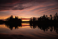 &quot;Sunset on Suzanette Lake&quot;<br />