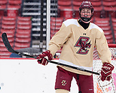 Christopher Brown (BC - 10) - The Boston College Eagles practiced at Fenway on Friday, January 6, 2017, in Boston, Massachusetts.