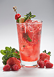 Strawberry and Raspberry Infusion