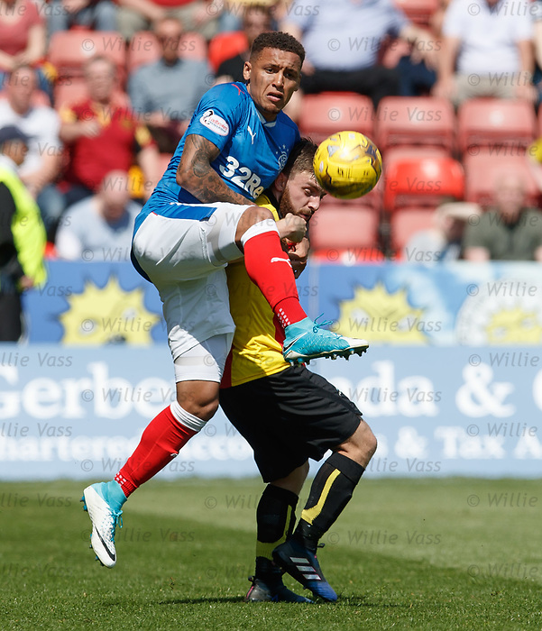 James Tavernier clears