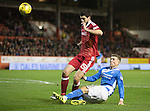 Aberdeen v St Johnstone&hellip;10.12.16     Pittodrie    SPFL<br />David Wotherspoon is blocked by Anthony O&rsquo;Connor<br />Picture by Graeme Hart.<br />Copyright Perthshire Picture Agency<br />Tel: 01738 623350  Mobile: 07990 594431