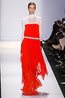 Arizona Muse walks the runway in an out by Max Azria, for the BCBGMAXAZRIA Fall 2011 fashion show, during Mercedes Benz Fashion Week.