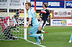 Dundee v St Johnstone....29.09.12      SPL.Liam Craig puts the ball in at the back post to make it 2-1 to saints.Picture by Graeme Hart..Copyright Perthshire Picture Agency.Tel: 01738 623350  Mobile: 07990 594431