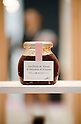 November 5th, 2011 : Tokyo, Japan &ndash; Strawberry Jam is displayed during 2011 Tokyo Designers Week. It is held in Meiji Jingu Gaien, from November 1st to 6th. The theme of this year is &ldquo;Love/ARIGATO&rdquo;. Designers, artists, and organizations express their ideas and their creative works such as contemporary art, music, unique goods and workshops during this show. (Photo by Yumeto Yamazaki/AFLO)
