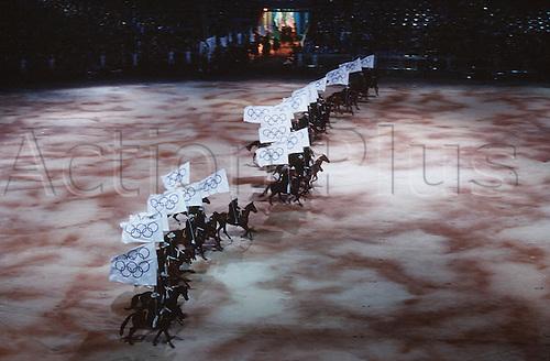 15.09.2000. Olympic Stadium, Sydney, Australia. The Opening Ceremony, Olympic Stadium, Sydney 2000 Olympic Game