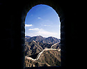 AA01233-03...CHINA - The Great Wall near Badaling.