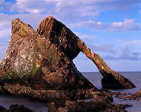 Bow Fiddle Arch, North Sea, Scotland, United Kingdom