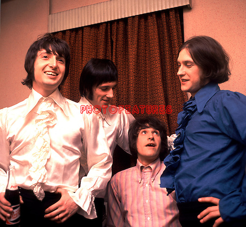 The Kinks 1966 Pete Quaife, Mick Avory, Ray Davies and Dave Davies.© Chris Walter.