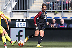 10 April 2016: Carli Lloyd (USA). The United States Women's National Team played the Colombia Women's National Team at Talen Energy Stadium in Chester, Pennsylvania in an women's international friendly soccer game. The U.S. won the match 3-0.