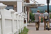 The Landmark Inn in downtown Marquette Michigan.