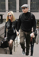 NOV 13 Jenny McCarthy and Donnie Wahlberg Leaving SiriusXM Studios