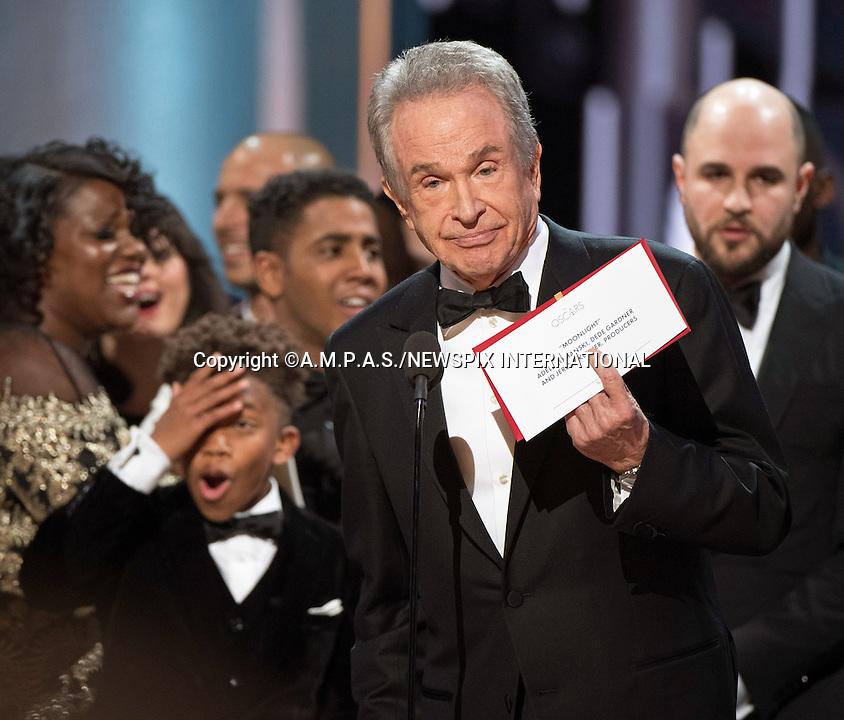 89th Oscars - PWC Oscar Awards Blunder