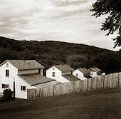 Quecreek, Pennsylvania.July 9, 2003..Housing near the mine...