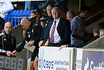 St Johnstone v Motherwell...11.09.10  .Craig Brown and Archie Knox look on.Picture by Graeme Hart..Copyright Perthshire Picture Agency.Tel: 01738 623350  Mobile: 07990 594431